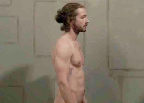 so #ShiaLaBeouf shows off his LaBeouf artfully in the #SigurRos music video