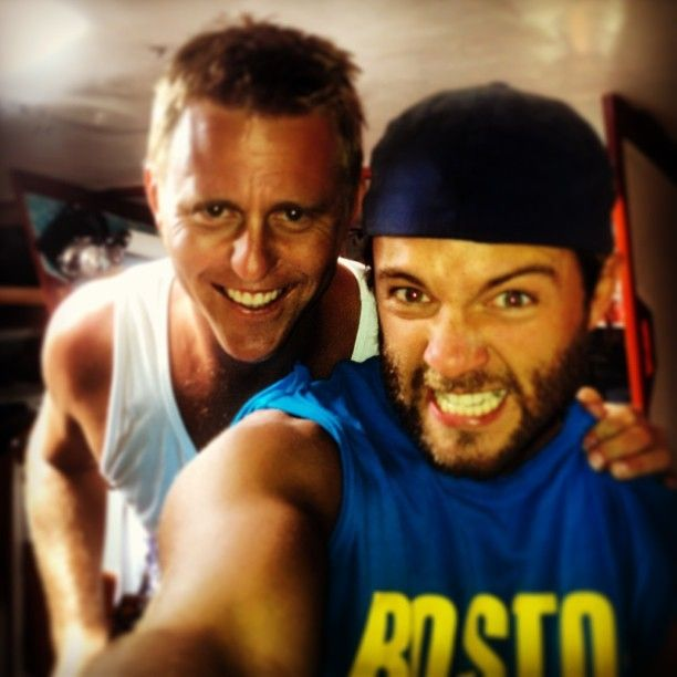 Keith and a friend instagram keith harkin photo