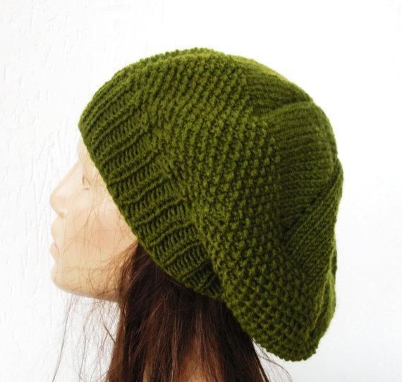 Knit Beret Hat Pattern : French Beret Hat Pattern via Craftsy Knitting Pinterest