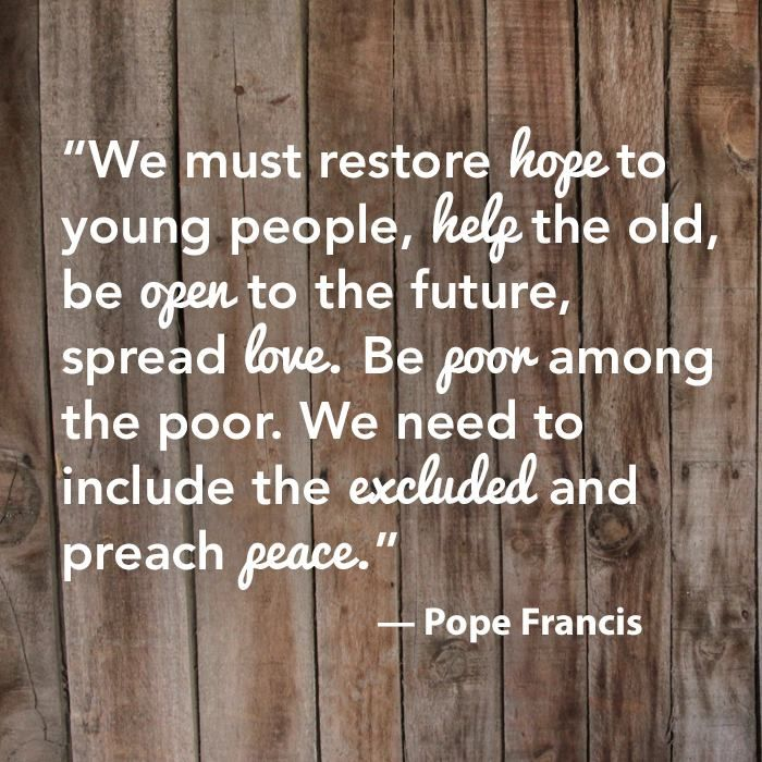 Pope Francis Quotes On Mission