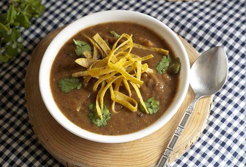 Recipe: Butternut Squash and Black Bean Soup | favorite recipes--soup ...