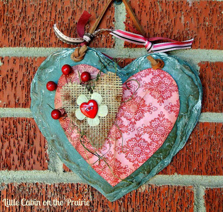 valentine's day button crafts