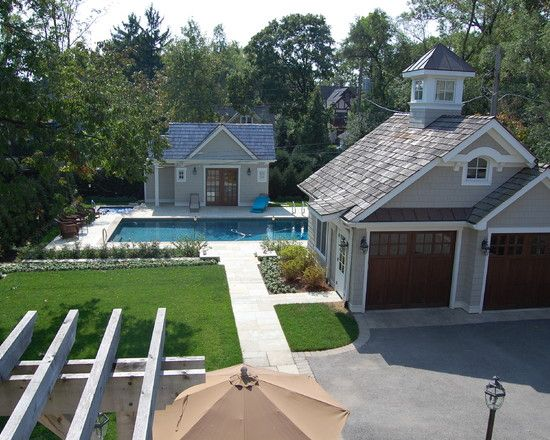 Garage cuppola cute pool house home is where you make for Garage and pool house combination plans