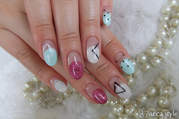 Modern art. Nail. Manicure. | Nails | Pinterest