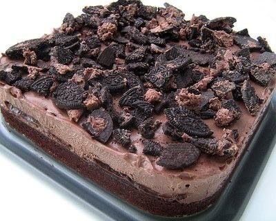 Brownie & Chocolate Ice Cream | Sweets for the Sweets | Pinterest
