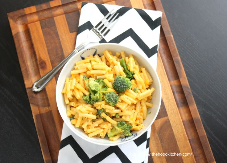 Broccoli and Cheese Mac & Cheese