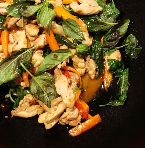 Spicy Basil Chicken | Gotta Have Food, Right? | Pinterest