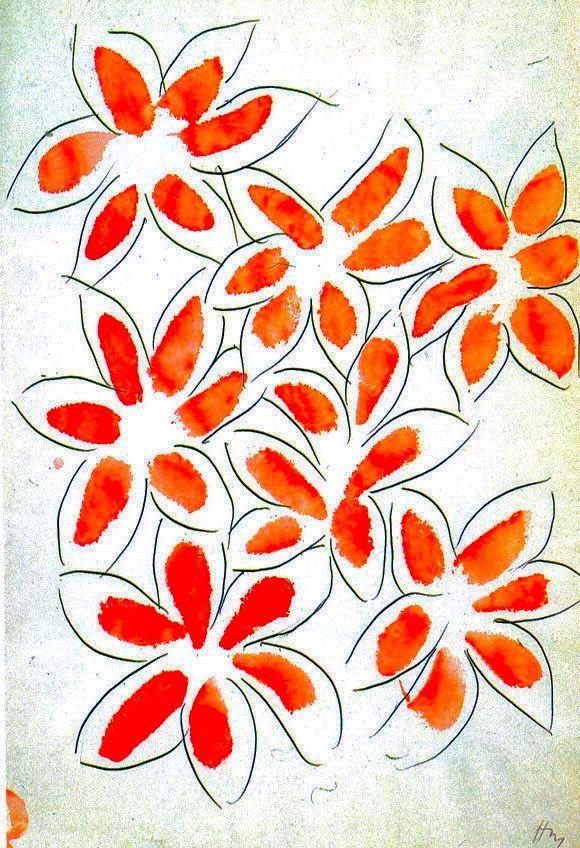 Matisse flowers 1945  ...