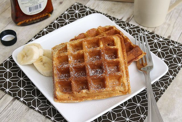 Peanut Butter Waffles by Tracey's Culinary Adventures, via Flickr ...