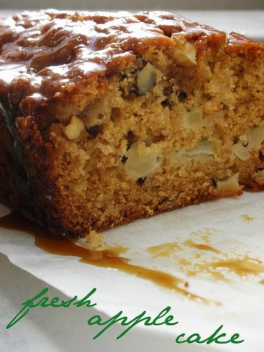 CentralFoothillsMommies: Fresh Apple Cake with Brown Sugar Glaze, I ...