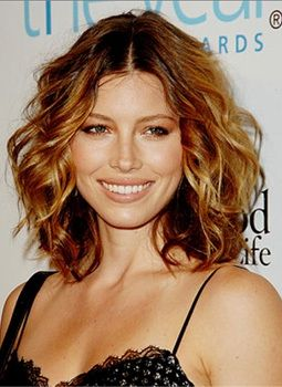 Short honey brown hair. Love this cut and color.
