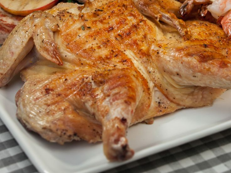 Grilled Butterflied Chicken Recipe : Food Network - FoodNetwork.com
