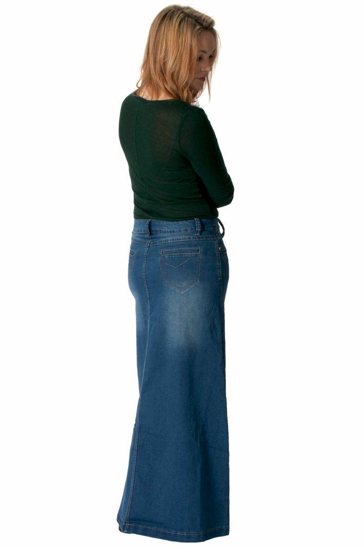 pin by denim skirts on modest denim skirts