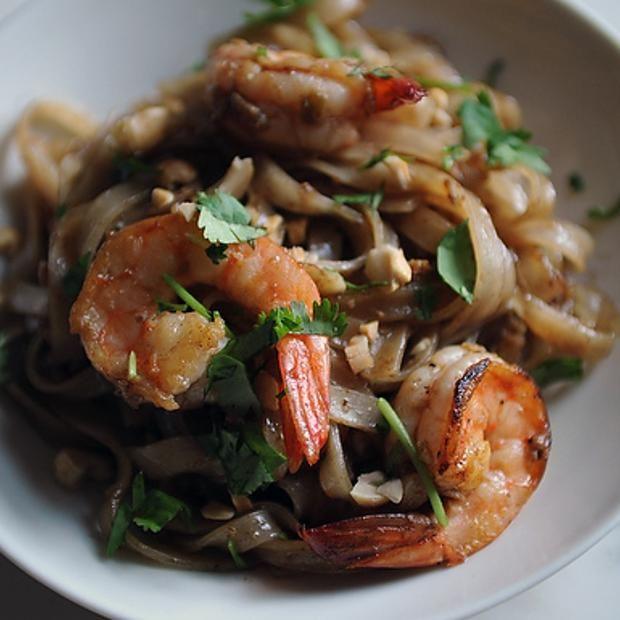 Shrimp Pad Thai   Food   Pinterest
