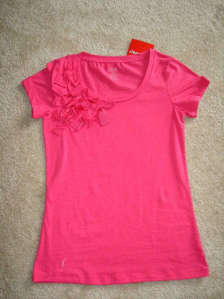 Pin by michelle palu on cute cut up shirt designs pinterest for Ways to design t shirts