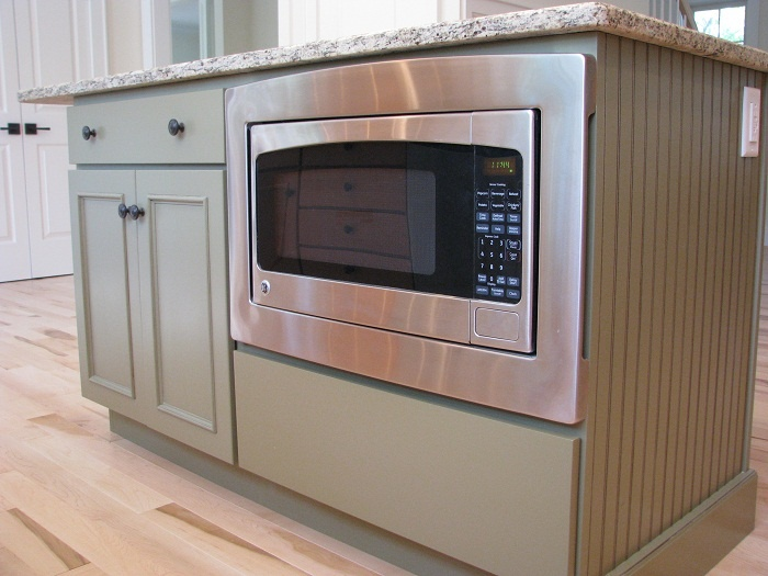 microwave in island kitchen pinterest microwave in island pros amp cons
