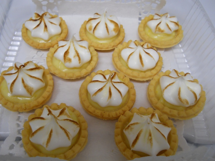 Mini Meyer Lemon Meringue Tarts | Pictures of food I actually made ...