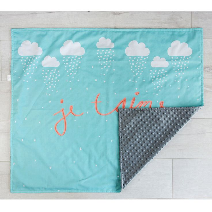 Gorgeous selection of baby + toddler blankets with modern sentiments