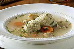 Easy chicken soup. Matzo balls or gnocchi would work in this!