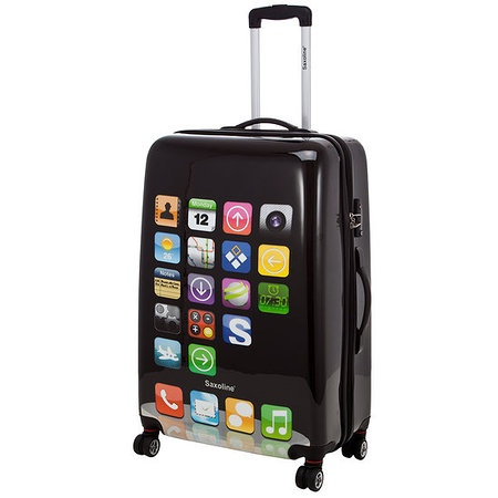 Suitcase for smartphone fans