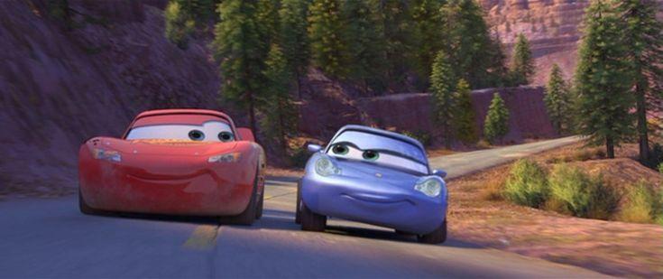Lightning McQueen & Sally Carrera
