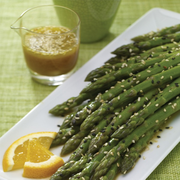 Asparagus with Zesty Citrus Dressing | Recipes to Try | Pinterest