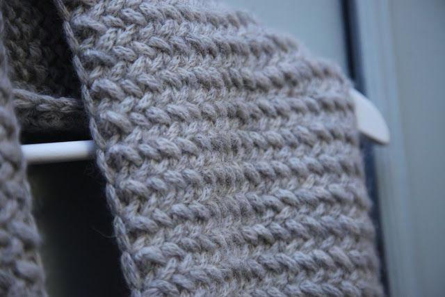 marcel.et.olaf: ♥ Herringbone stitch ♥ | Tricot / Crochet ...