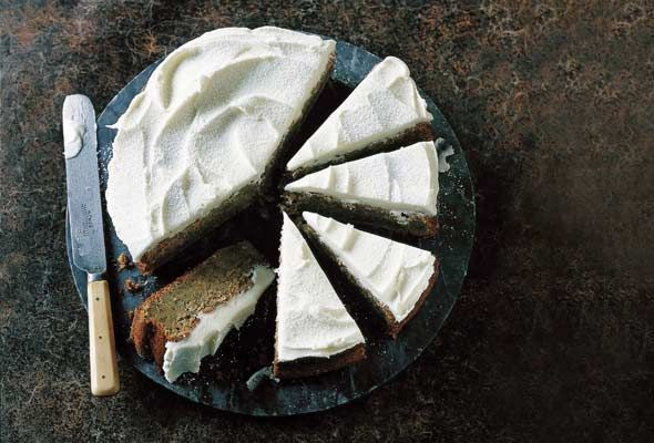 Zucchini cake with lemon and poppyseed | Foodie | Pinterest
