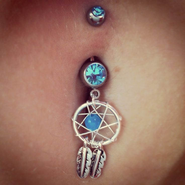 dream catcher belly rings tumblr