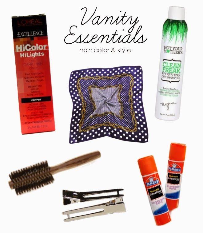 Hair Style Essentials : My hair styling essentials Vanity (Retro) Pinterest