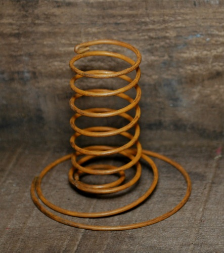 Primitive Crafts with Wire Springs