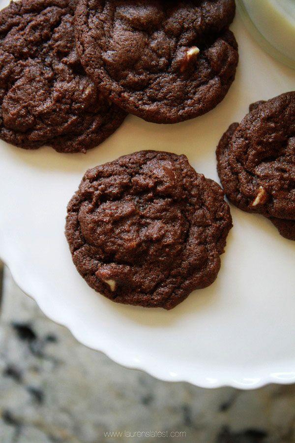 Triple Chocolate Brownie Cookies | Recipe