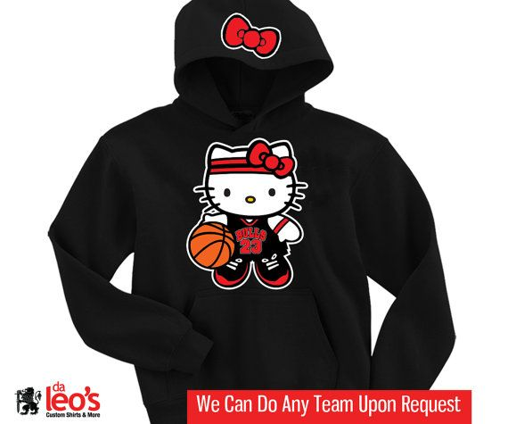 Chicago Bulls Primary Logo Synthetic Black Pullover Hoodie
