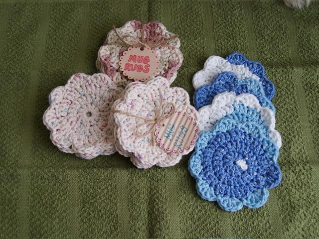 Free Crochet Pattern For Mug Rug : mug rugs Crochet patterns Pinterest