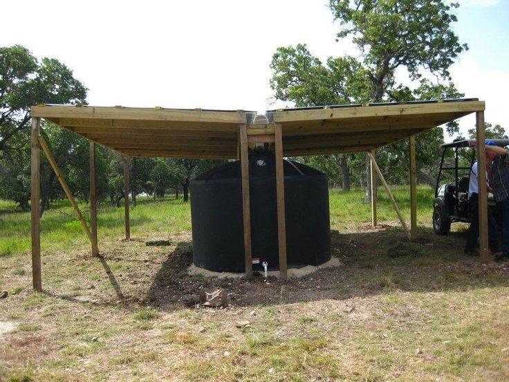Water Tank Shelter : Pin by teresa kha on preparedness pinterest