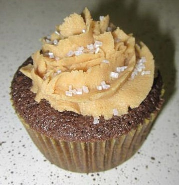 ... Devil's Food Cake reciepe, Fluffy Peanut Butter Frosting, and a Rich