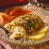 Baked Deviled Orange Roughy--a species that has been overfished
