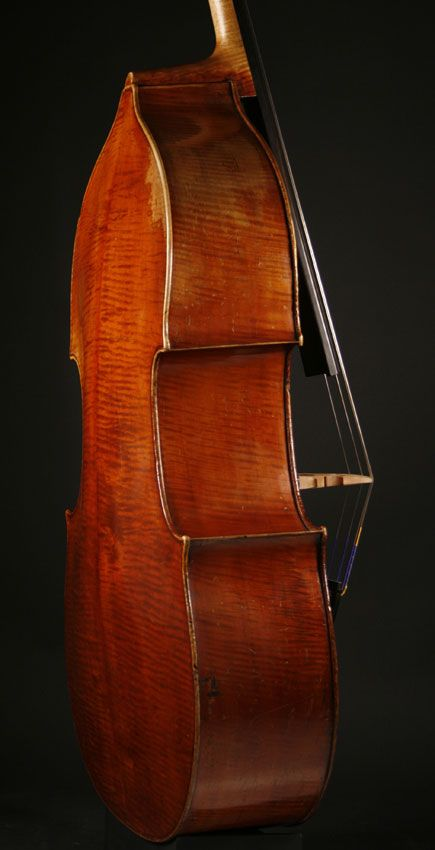 Leon Mortin double bass, Mirecourt, c.1905