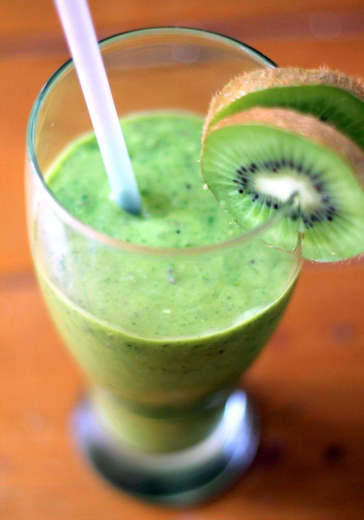 ... Fitness Food: Mango Kiwi Avocado Green Smoothie {vegan, gluten free