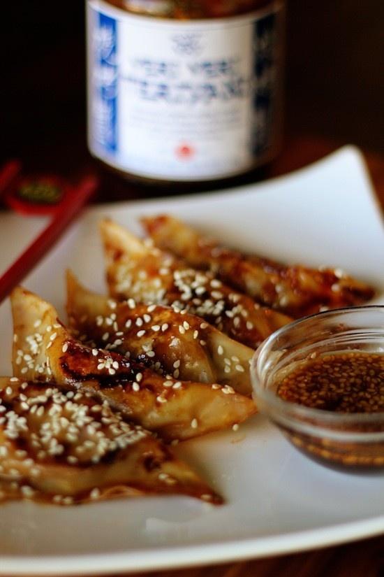 asian shrimp dumplings | appetizers | Pinterest