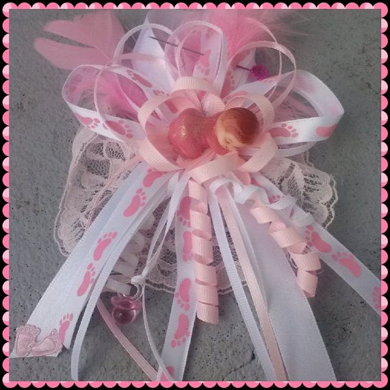 mom to be baby shower corsage capia for girl by liviwear on etsy 6