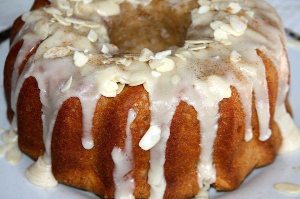 Almond Maple Bundt Cake   Desert   Pinterest