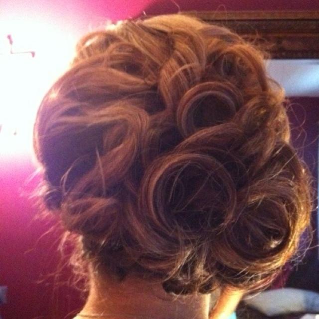 Wedding hair trial | Hair Styls | Pinterest