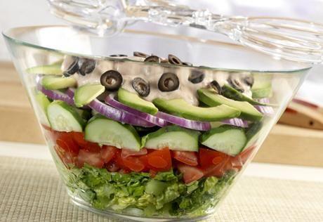 Layered Tex-Mex Salad | Recipe