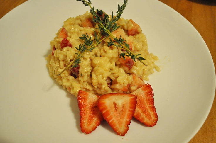 Lobster Strawberry Risotto. | Yummy & Delish | Pinterest