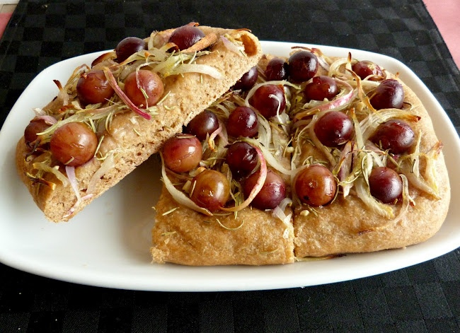 Rosemary Grape Focaccia | Appetizers | Pinterest