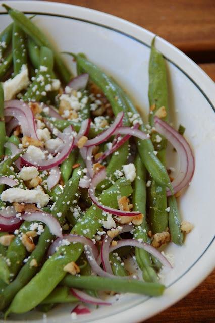 Green Bean, Walnut and Feta Salad | Spring Recipes & Menus | Pinterest