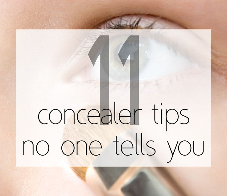 best #concealer tips!- favorite Pinterest pins
