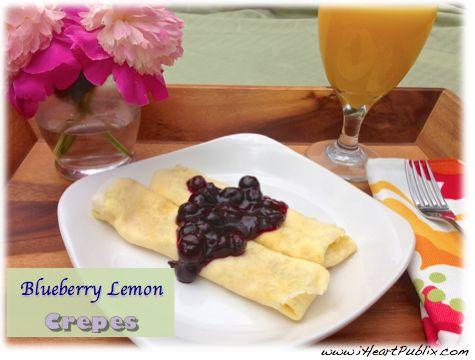 crepes Breakfast For Mom Blueberry Lemon Crepes