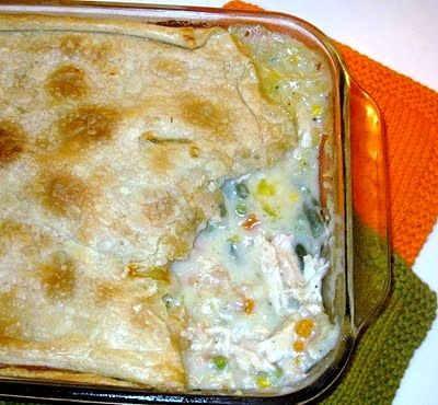 Old Fashioned Chicken Pot Pie | cookingwithk.net